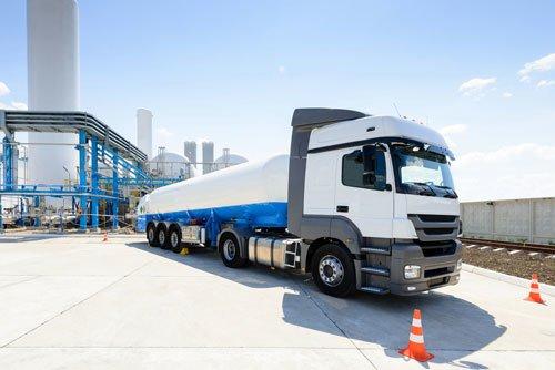Propane Gas Truck